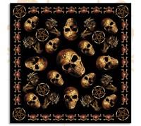 Бандана череп 24