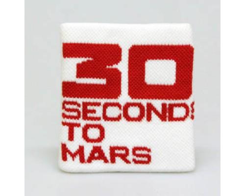 Напульсник тканевый   30Seconds To Mars 1