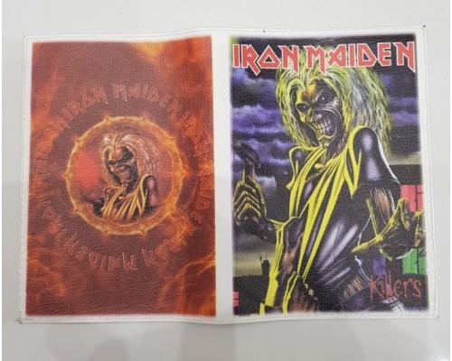 Обложка для паспорта Iron Maiden 1