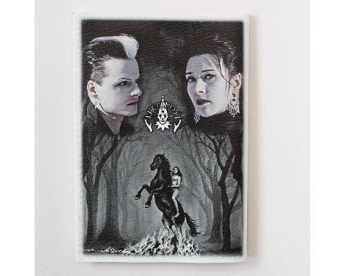 Обложка для паспорта Lacrimoza 1