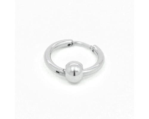 Серьга с кольцом 1