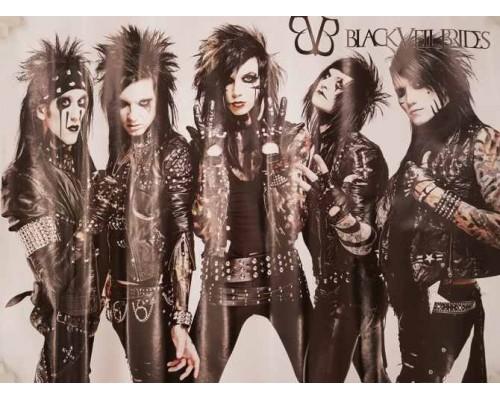 Плакат Black Veil Brides 1