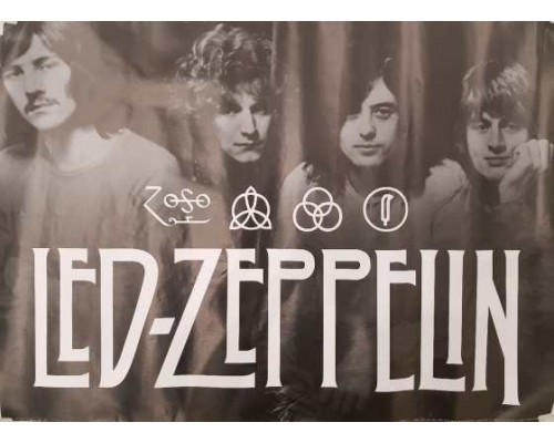 Плакат Led Zeppelin 1
