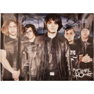 Плакат My Chemical Romance 1