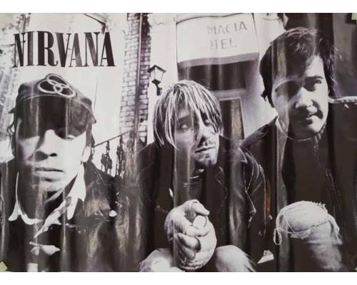 Плакат Nirvana 1