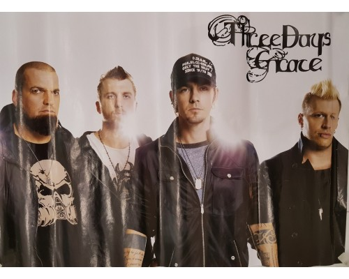 Плакат Three Days Grace 1