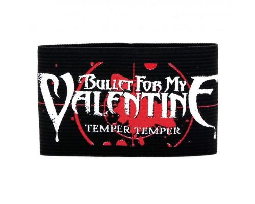 Браслет резиновый Bullet for my Valentine 1