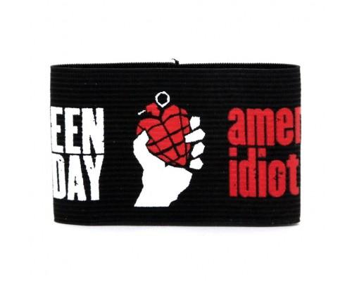 Браслет резиновый Green Day