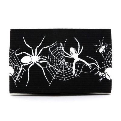 Браслет резиновый Пауки на паутине