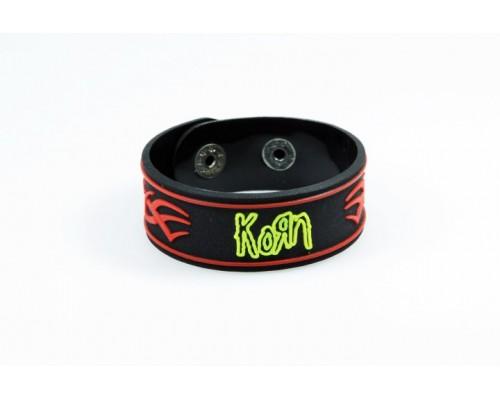Браслет силиконовый Korn 1