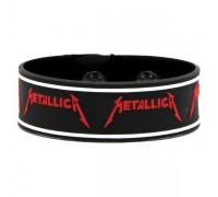 Браслет силиконовый Metallica 1
