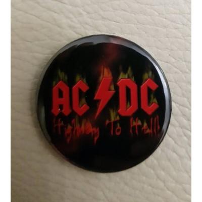 Значок AC/DC 1