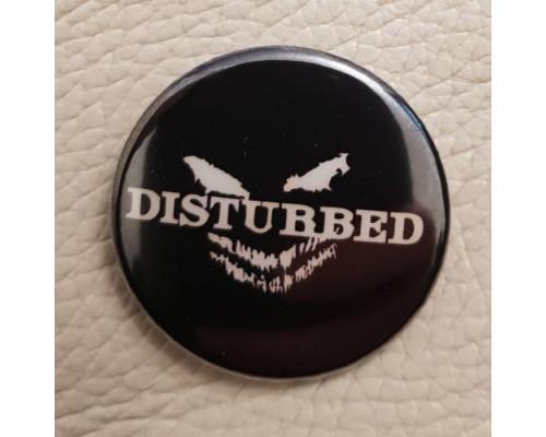 Значок Disturbed 1