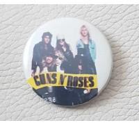 Значок Guns n Roses 3