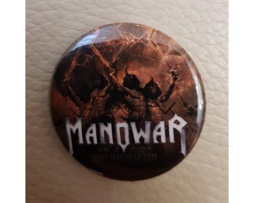 Значок Manowar 1