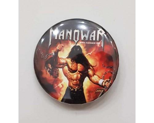 Значок Manowar 2