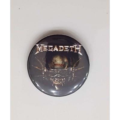 Значок Megadeth 2