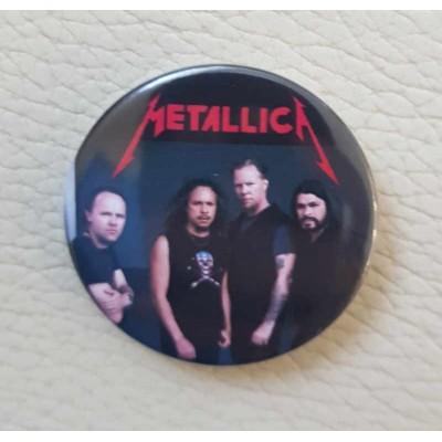 Значок Metallica 4