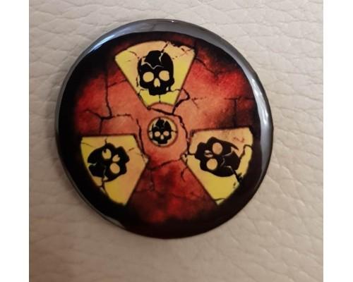 Значок Радиация 1