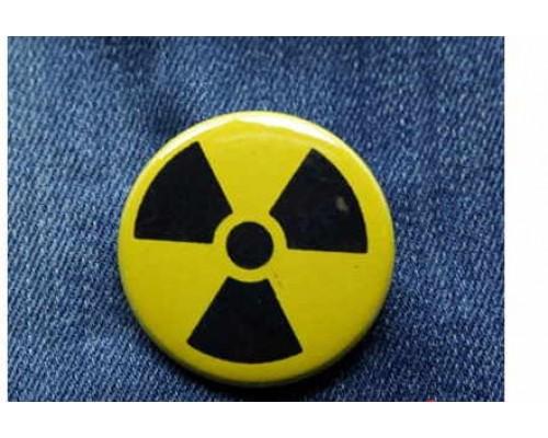 Значок Радиация 2