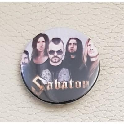 Значок Sabaton 1