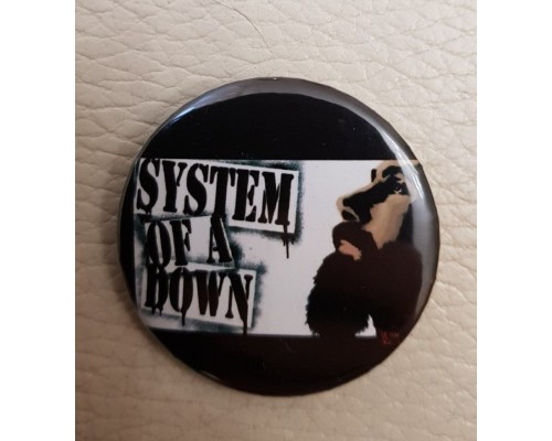 Значок System of a Down 1