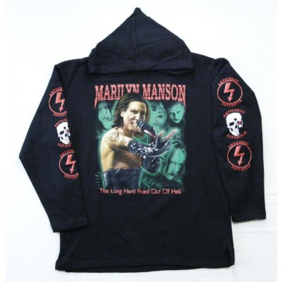 Балахон Marilyn Manson b1