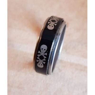 Кольцо Череп 1