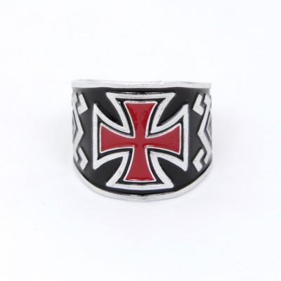 Кольцо Мальтийский Крест 1