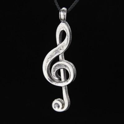 Кулон Скрипичный Ключ 1