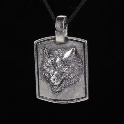 Кулон Волк 1