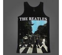 Футболка без рукавов The Beatles b1