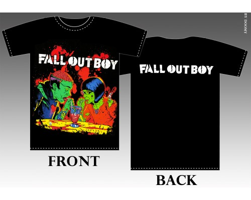 Футболка Fall Out Boy k2