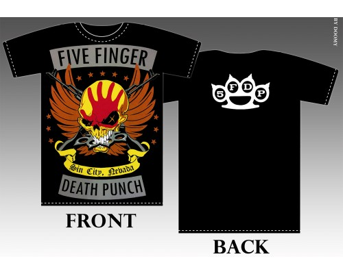 Футболка Five Finger Death Punch k3