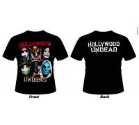 Футболка Hollywood Undead k4