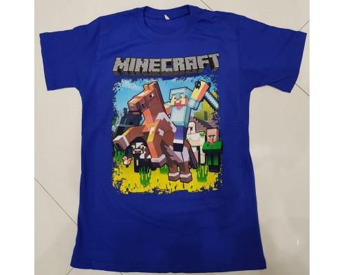 Футболка Minecraft k2
