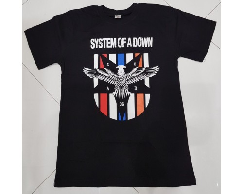 Футболка  System Of A Down k8