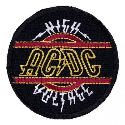 Нашивка AC/DC v4