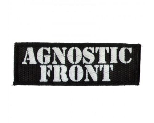 Нашивка Agnostic Front n1
