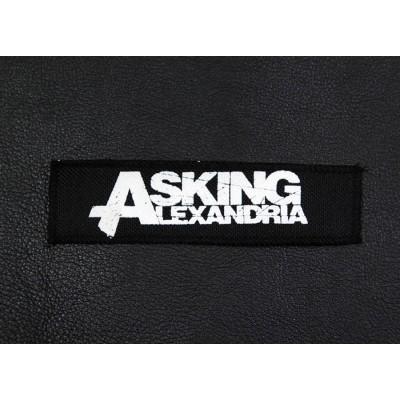 Нашивка Asking Alexandria n1