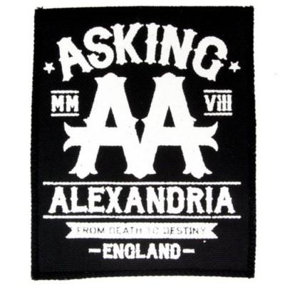Нашивка Asking Alexandria n2
