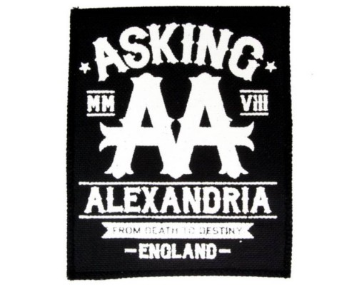 Нашивка Asking Alexandria n2