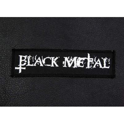 Нашивка Black Metal n1