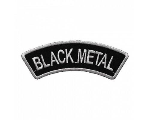Нашивка Black Metal 2