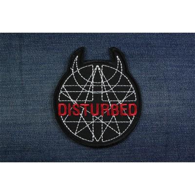 Нашивка Disturbed 1