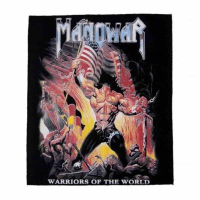Нашивка Manowar 1