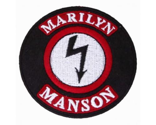 Нашивка Marilyn Manson v1
