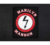 Нашивка Marilyn Manson n1