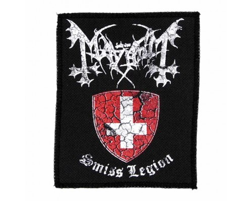 Нашивка Mayhem n1