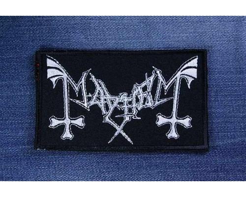 Нашивка Mayhem v1